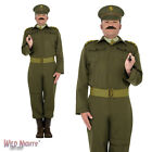 """FANCY DRESS COSTUME # MENS 1940's WW2 HOME GUARD OFFICER COSTUME 38""""-44"""""""