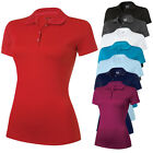 Adidas Ladies ClimaLite Jersey Golf Polo Shirt