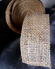 "2"" Burlap Ribbon 10 Yard Roll - Available in 4 Colors"