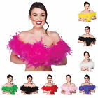 60g Feather Boa 1.7m Fancy Dress Hen Night Halloween 1920s Flapper Accessory New