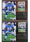 Barry Sanders #20 Detroit Lions Legend NFL MVP Hall of Fame Photo Card Plaque on eBay
