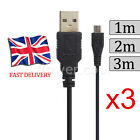 EXTRA Long Micro USB Data Charger Cable Lead fr Samsung S6 S7 Edge SONY HTC ONE