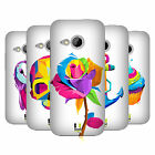 HEAD CASE DESIGNS CUBIST POP ART HARD BACK CASE FOR HTC ONE MINI 2