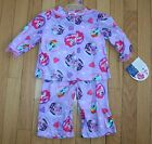 New Girls MY LITTLE PONY 2 Pc Purple Flannel Pajamas ~Inf/Tod Szs