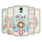 HEAD CASE MY KIND OF SUMMER SILICONE GEL CASE FOR SAMSUNG GALAXY S5