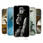HEAD CASE WILDLIFE SILICONE GEL CASE FOR SAMSUNG GALAXY S5