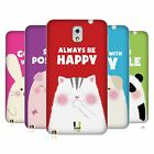 HEAD CASE HAPPY ANIMALS SILICONE GEL CASE FOR SAMSUNG GALAXY NOTE 3 N9000