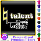 Cornet Natural Talent - Personalised Music T Shirt 5yrs - 6XL by MusicaliTee