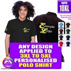 POLO 3XL - 5XL With Any Music Design Personalised by MusicaliTee
