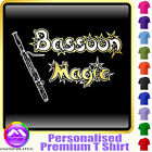 Bassoon Magic - Personalised Music T Shirt 5yrs - 6XL by MusicaliTee