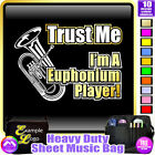 Euphonium Trust Me - Sheet Music & Accessories Personalised Bag by MusicaliTee