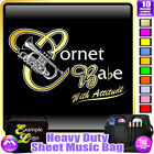 Cornet Babe With Attitude - Sheet Music & Accessories Custom Bag by MusicaliTee