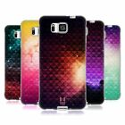 HEAD CASE PRINTED STUDDED OMBRE SILICONE GEL CASE FOR SAMSUNG GALAXY ALPHA G850