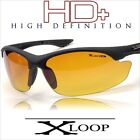 X-Loop Sports Sunglasses HD + High Definition Glasses Mens Outdoors X3303 multi