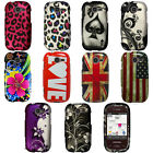 For Samsung Gravity Q T289 T-Mobile Rubberized Design Hard Cover Snap On Case