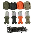 Mini Multifunction Outdoor Survival EDC Pocket Tool Knife Webbing Buckle Camping