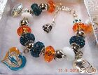 NFL MIAMI DOLPHINS  Crystal Charm Bracelet    Ryan Tannehill    NEW DESIGN!