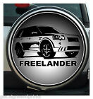 FREE LANDER WHEEL COVER STICKER 4X4 (CHOICE OF SIZES)