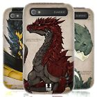 HEAD CASE DRAGONS SILICONE GEL CASE FOR BLACKBERRY CLASSIC Q20