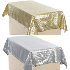 """54""""*39"""" Rectangle Tablecloth Catering Banquet Table Clothing Wedding Party Gold"""
