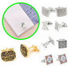 Silver Vintage Men's Wedding Party Gift Classical Pattern Cufflinks Cuff Links
