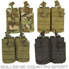 VIPER TACTICAL DOUBLE DUO MAGAZINE POUCH MOLLE QUICK RELEASE AIRSOFT ARMY