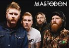 MASTODON Once More 'Round the Sun PHOTO Print POSTER Band Hunter Shirt 002