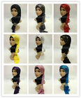 New Style Sequins Modal Cotton Muslim Long Scarf Hijab Islamic Shawls Shayla