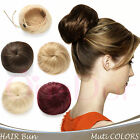 OneDor Synthetic Ballet Hair Bun Extension Donut Chignon Hairpiece for Ponytail