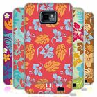 HEAD CASE HAWAIIANER MUSTER GEL CASE FÜR SAMSUNG GALAXY S2 II I9100