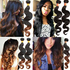 "Hot Brazilian Human Hair Extension Body Wave Ombre Hair Extension 10""-30"" 50G/PC"