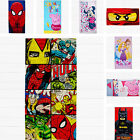 Kids Boys Girls Lego Disney Marvel Peppa Pig Character Beach Bath Cotton Towel