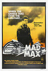 """""""MAD MAX"""" Mel Gibson ... Classic Movie Poster A1A2A3A4Size"""