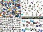 European Murano Glass Beads Rhinestone Charms Pendants Paracord Geocahce PCS lot
