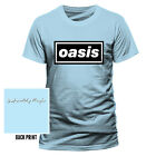 OASIS - DEFINITELY MAYBE OFFICIAL cotton T-SHIRT BLUE SHORT SLEEVE 90's classic