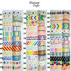 Washi Tape Decorative Masking Paper Adhesive Gift Craft Trim - Spots and Stripes