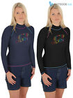Osprey Ladies Hazey Long Sleeve Rash Vest Womens Wetsuit Guard UV 50+ Protection