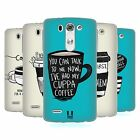 HEAD CASE COFFEE FIX SILICONE GEL CASE FOR LG G3 S D722