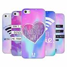 HEAD CASE WIFI LOVE SILICONE GEL CASE FOR APPLE iPHONE 5C