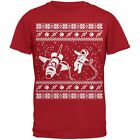 Astronaut in Space Ugly Christmas Sweater Red Youth T-Shirt
