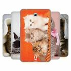 HEAD CASE CATS SILICONE GEL CASE FOR SAMSUNG GALAXY TAB 4 7.0 3G T231