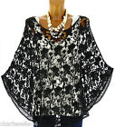 Women's Lace and Cotton Poncho US Sizes 4-16-SIMON CharlesElie94