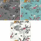 NEW ARTHOUSE MYSTICAL FOREST FLORAL LEAF PATTERN BIRD BUTTERFLY MOTIF WALLPAPER