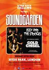SOUNDGARDEN London Hyde Park 2012 PHOTO Print POSTER King Animal Chris Cornell 6