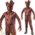 Boys Groot Guardians Of The Galaxy Tree Fancy Dress Costume Kids Outfit