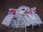 New England Patriots Football NFL Bridal Garter lace trim Regular / Plus size