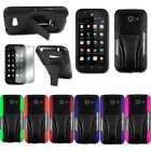 Huawei Tribute Fusion 3 Y536A1 Hybrid Hard Cell Phone Case + Soft Silicone Cover