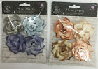 U CHOOSE  Prima KINDLED BERYL SIENNA Paper Flowers  embellishments