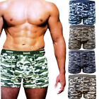 12 Pack Mens Classics Camouflage Army  Cotton Boxer Shorts Sizes S M L XL 2XL