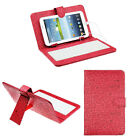 For Universal Android Tablet 7 / 9 Keyboard Leather Stand Case Cover Micro USB